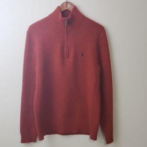 Ralph Lauren Burnt Orange Sweater SZ L
